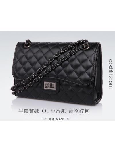 OL專用小香風 菱格紋包 公事包 側背包 斜背包