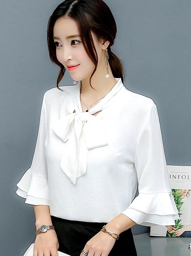 OL襯衫 襯衫 白色襯衫 OL套裝 OL穿搭
