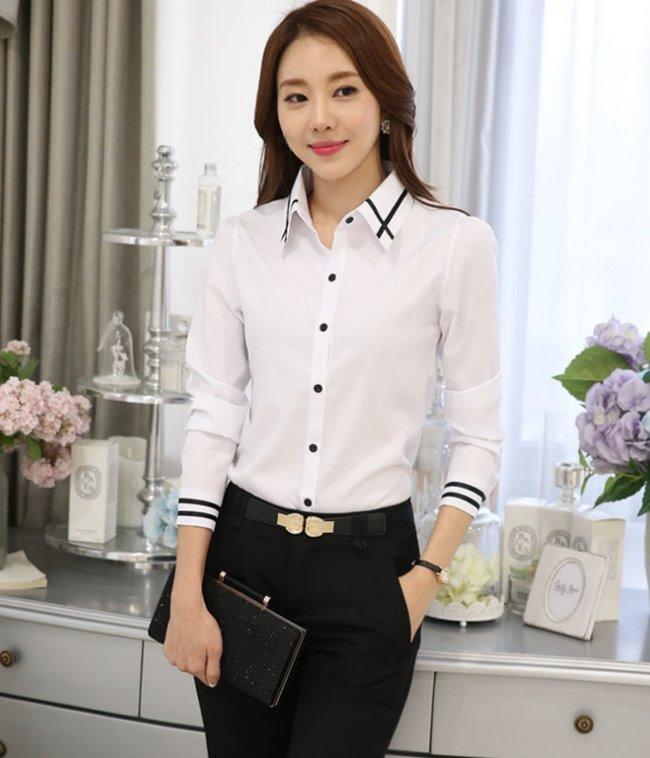 OL襯衫,OL上衣,制服,白襯衫