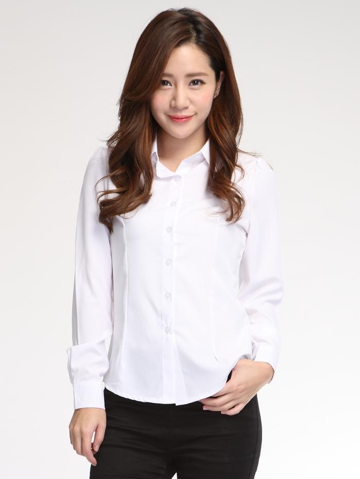 白襯衫,女,面試服裝,面試穿搭