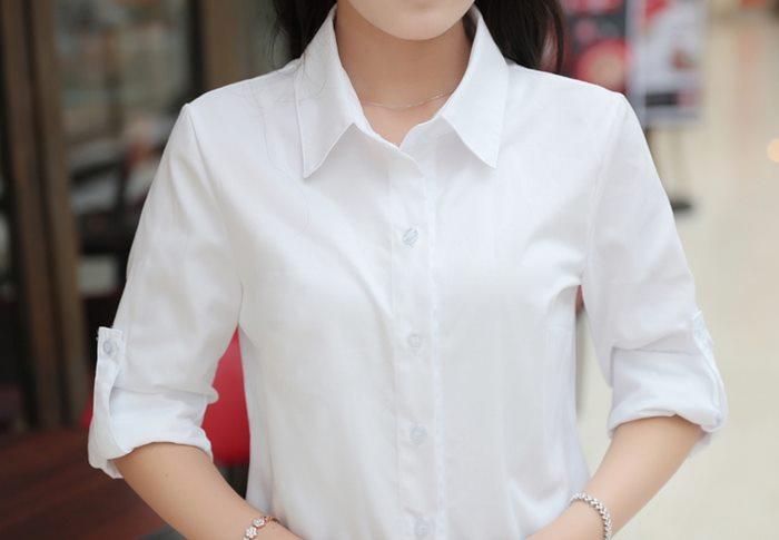 白襯衫,女,上班族襯衫,商務襯衫,免燙襯衫,ol,cpshirt