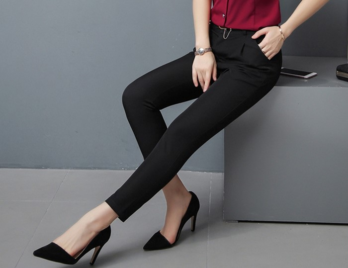 女西褲,西裝褲,九分褲,直筒褲