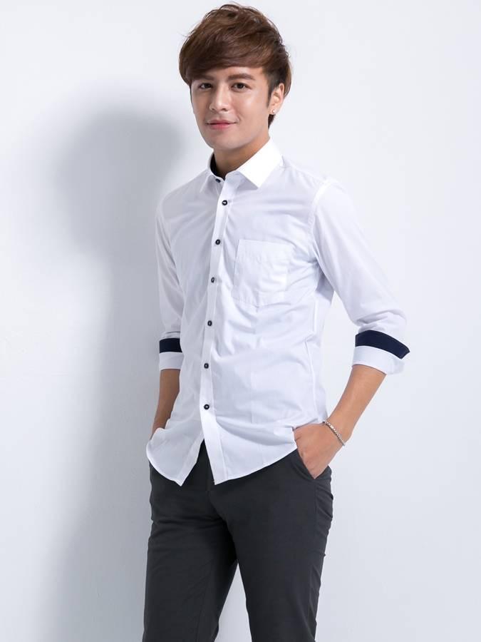 男裝 ,學生,素面襯衫,白襯衫,男,批發,制服,工作服