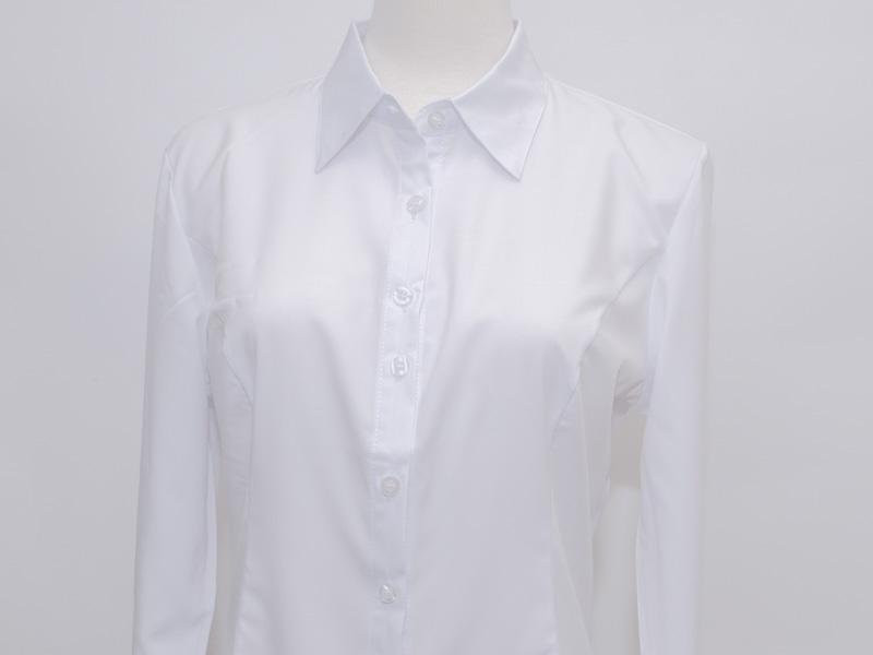 大尺碼白襯衫