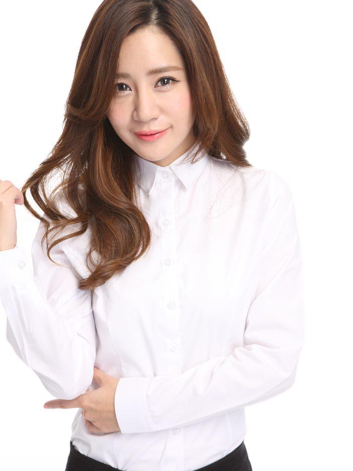 白襯衫,OL套裝,面試服裝,白襯衫女,孫藝珍,漂亮姐姐,襯衫