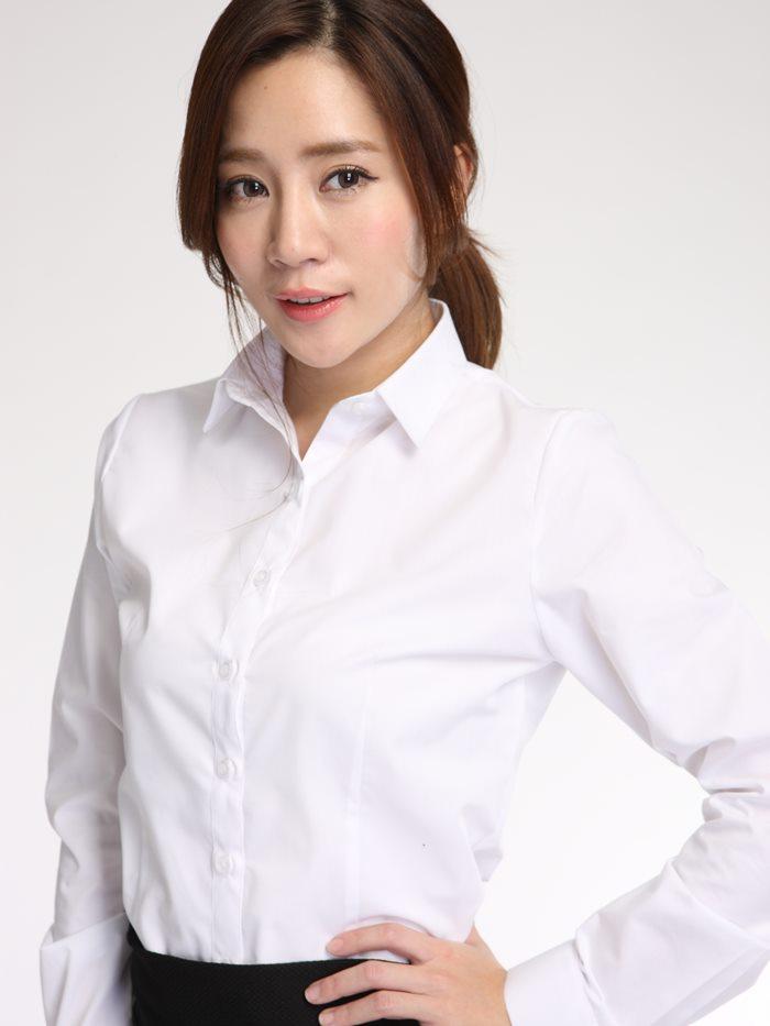 面試服裝 白襯衫 女