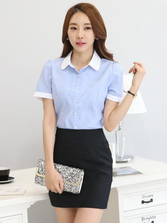 OL襯衫,女襯衫,上班,女套裝