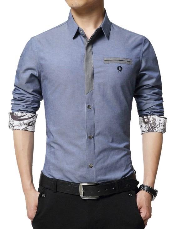 韓版,上班族,襯衫, 男裝, 商務襯衫,免燙襯衫, 批發